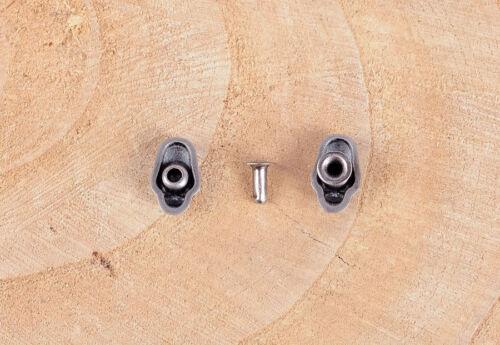 9x14mm 30pcs Antique Ruban mignon sourire Crâne rivetback Conchos Stud Rivet punaises