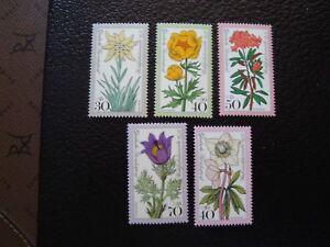 Germany-Rfa-Stamp-Yvert-Tellier-N-716-A-719-723-N-MNH-COL2