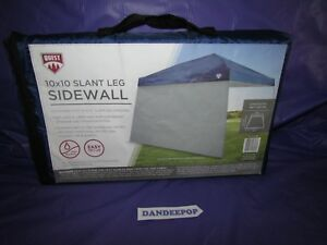 Details About Quest 10 X Slant Leg Tent Side Wall Wind Curtain Ceh01739