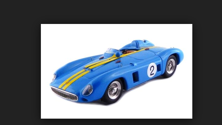 Ferrari 860 Monza-G.P.  Venezuela voitureacas 1956-J.M. Fangio 1 43 art390  économiser jusqu'à 70%