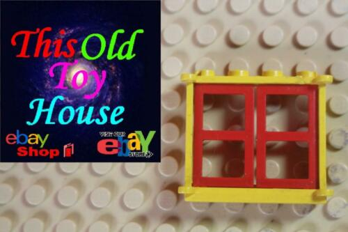 open or w// shutters Pre-owned Lego 3853 WINDOW FRAME 1X4X3 CHOICE OF COLOR
