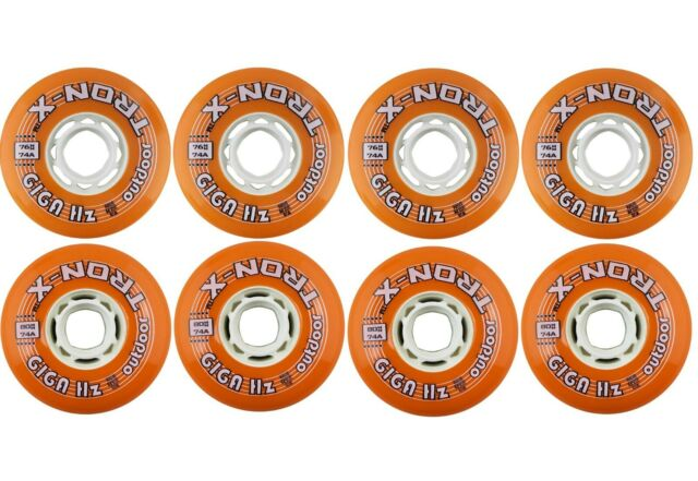 8Pcs//Pack Outdoor Indoor Hockey Inline Roller Skate Wheels 72mm 76mm 80mm