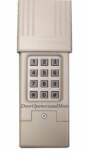 Chamberlain Garage Door Opener Keypad liftmaster 66lm wireless keyless entry keypad compatible with