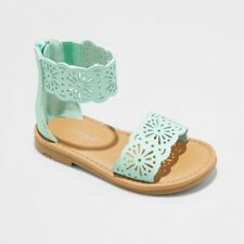 e40c8e842c9 Cat   Jack By Target Dara Sandals Toddler Girls Size 5 Gladiator Mint Green  NEW