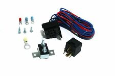 Universal Electric Fuel or Water Pump Fans and Lights Relay Kit 30 Amp 12 Volts