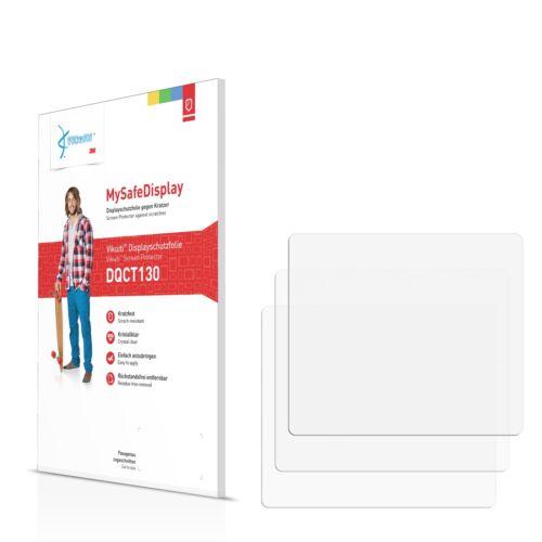 3x Vikuiti película protectora dqct 130 de 3m para konica minolta Dynax 5d