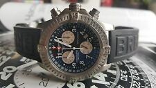 Breitling Avenger M1 E73360 Chrono Black Dial Titanium Super Quartz Men's Watch