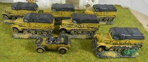 15mm-painted-WWII-German-trucks