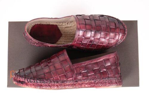 36//38//39//40 Leder handmade in spain,rot,UVP 199€,Gr PREVENTI Espandrills Neu