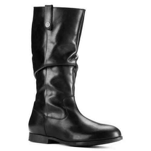 3aded24250cb0 Birkenstock Women Sarnia High Boot Leather Slouchy Flat Comfort EU 37 US 6  - 6.5