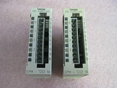 LENZE I//O MODULE  EPM-T222