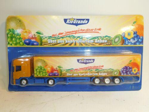 + 1//87 camiones scania Edeka río grande frutas nuevo