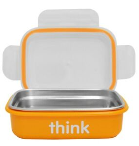 THINK-THINKBABY-THE-BENTO-BOX-LUNCH-DISHWASHER-SAFE-LEAKPROOF-AIR-TIGHT-ORANGE