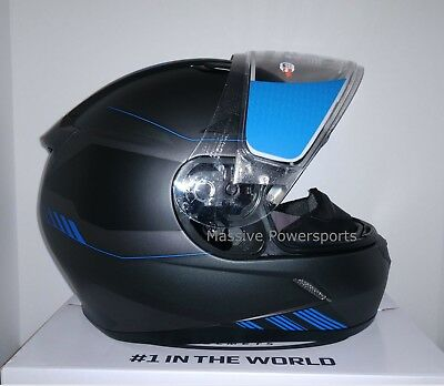 Matte Black HJC Solid Mens CL-17 Full Face Motorcycle Helmet 4X-Large Plus 0851-0135-10