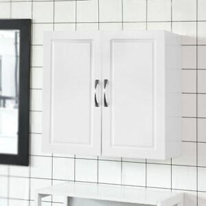 SoBuy® Armadietto pensile da bagno,Mobile da parete per il cucina ...