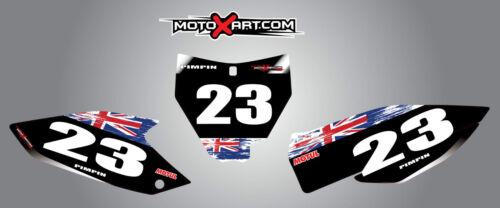 2014-2015 Aussie pride style stickers Husqvarna TC 125-250 FC 250-350-450