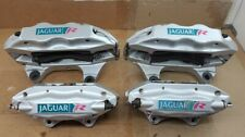 03 08 Jaguar S Type R Xjr Oem Brembo Left Right Front Rear Brake Calipers Set
