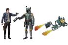 Star Wars 5 Inch Action Figure Force Link 2-pack Wave 1 - Han Solo VS Boba Fett