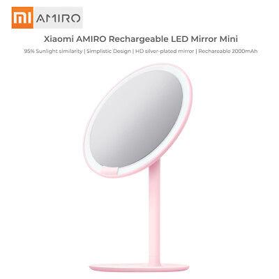 Amiro Mini Xiaomi Lighted Makeup Mirror, Battery Led Makeup Mirror