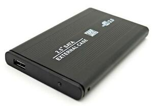 BLACK 2.5 SATA to USB HARD DRIVE CADDY HDD CASE ENCLOSURE