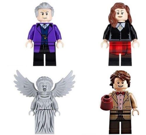4 Pcs Doctor Who Mini Figure NEW UK Seller Fits Major Brand Blocks Bricks