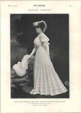 1905 Miss Olive Morell Dulcie Babori Charles France Mlle Arlette Dorgere