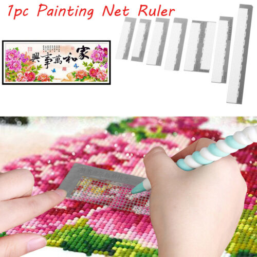 Embroidery Necklace Dotting Mesh Model Diamond Painted Net Ruler Drilling Tools
