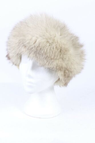 Vintage Hat Casuals 1990s Winter Style Fur Real Canadian Hat321 Genuine White rp6wqr5P