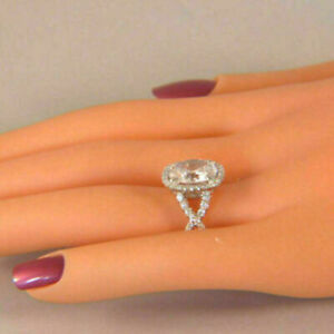 2.80 Carat Marquise Cut Diamond Engagement Wedding Eternity Band in 14K White Gold
