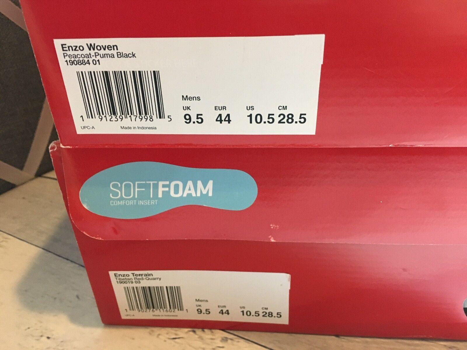 innovative design 95b45 6e1ce ... New Puma Enzo Enzo Enzo Terrain tejida de capacitación de hombres  zapatos zapatillas todas 3 colores ...