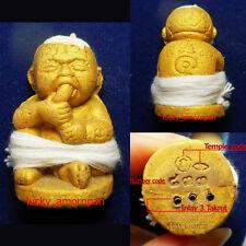 Guman Thong Prai 7 cemetery LP Khaohaeng Talisman Luck Rich Wealth Thai Amulet