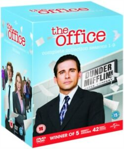 DVD-THE-OFFICE-US-SERIES-1-TO-9-COMPLETE-BOX-SET-NEW-Region-2-UK