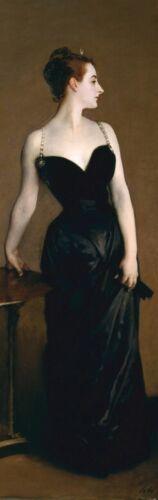 Portrait Madame X Poster Foto-Tapete #98500 John Singer Sargent 250x79cm