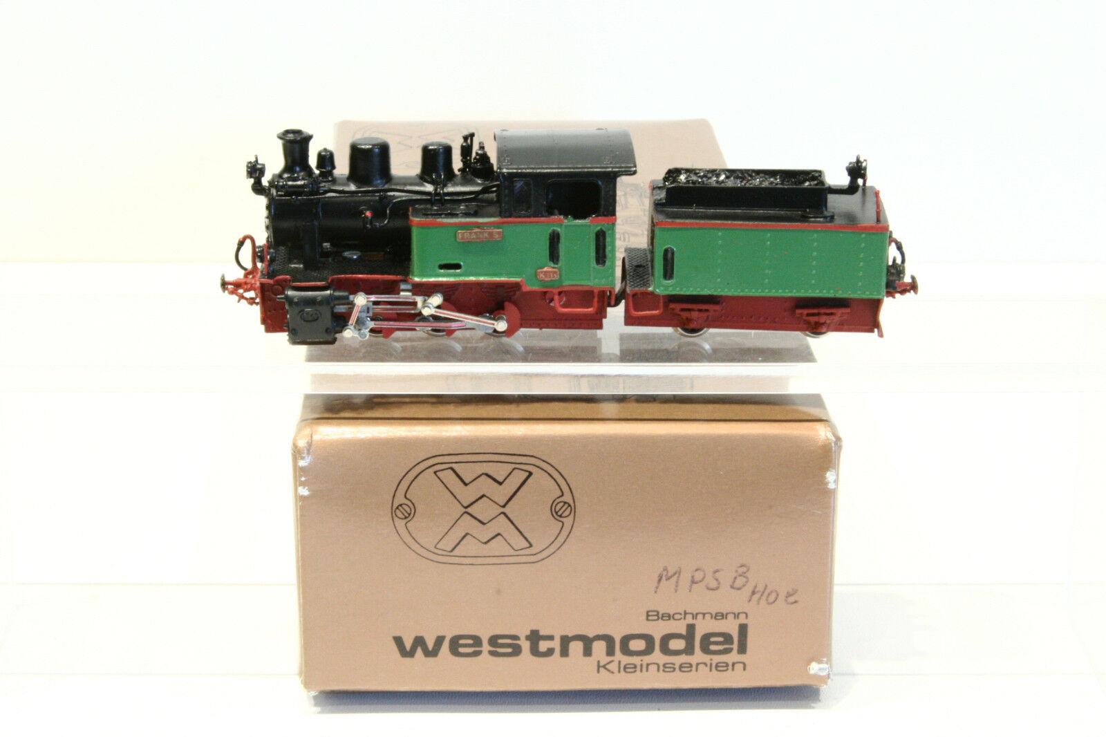 West MODEL h0e mpsb schleptenderlok  Frank S , molto ben strutturato, OVP