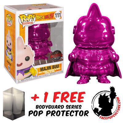 FUNKO POP DRAGON BALL Z MAJIN BUU CHOCOLATE EXCLUSIVE POP PROTECTOR