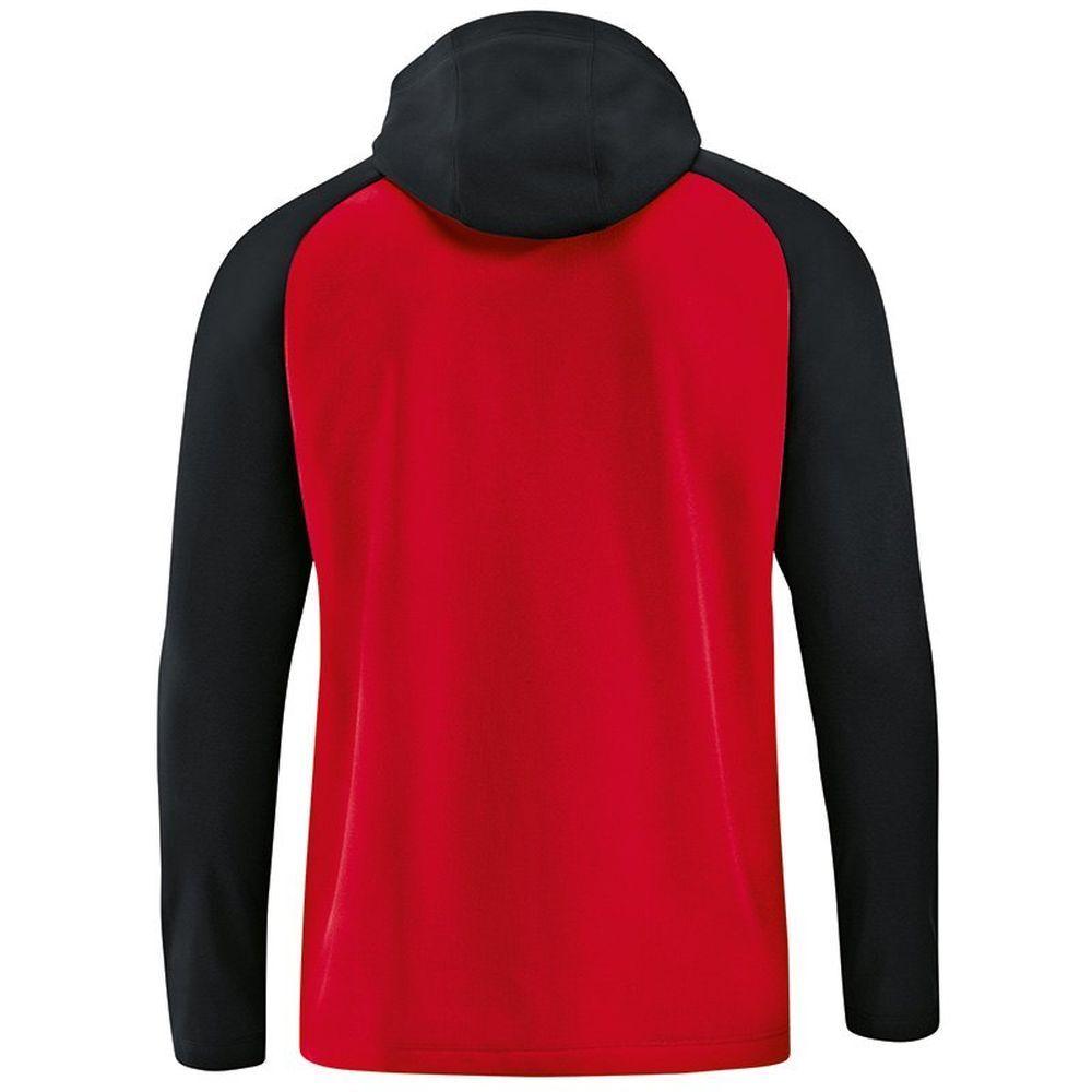 Jako Fußball Kapuzenjacke Competition 2.0 2.0 2.0 Damen Trainingsjacke Frauen rot schwar b6a4ea