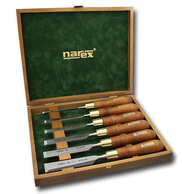 Narex Premium Polished Bevel Edge Chisel 6 pce Set (853250) 6/10/12/16/20/26mm