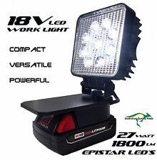M18v Milwaukee Adapt LED Light Work Light Flood Light Spot Light Torch Compact