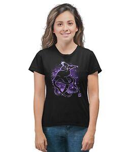 100% Vrai Ursula Sea Witch Peinture Effet Disney Inspiré T-shirt Adultes & Enfants Tailles-afficher Le Titre D'origine