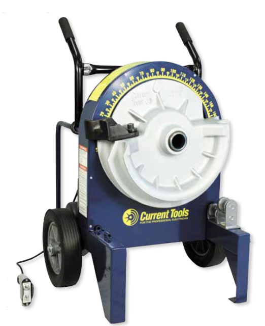 Current Tools 77RIG Electric Bender with 700R Rigid Shoes and Accessories