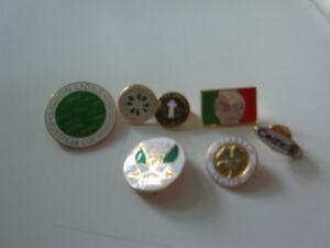 Bundle 7 Celtic Glasgow Pin Badges
