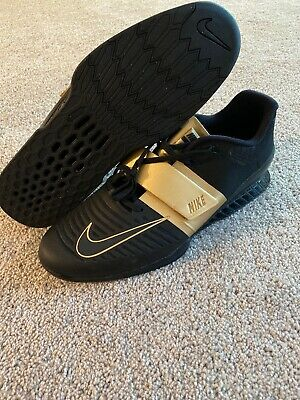 Black Gold Weightlifting Shoes Size
