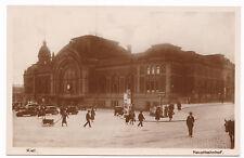 Foto AK Kiel Hauptbahnhof HBF Eisenbahn Zug Schleswig Holstein Postkarte