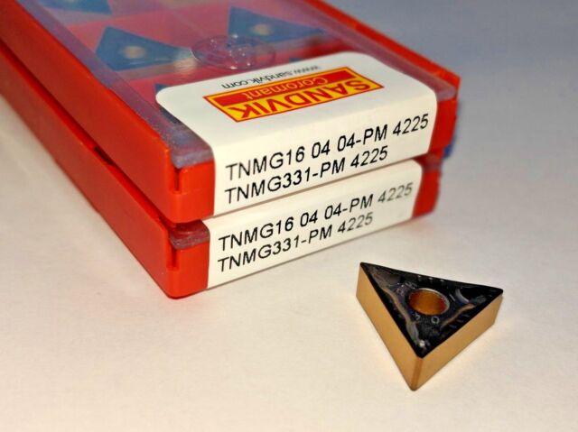SANDVIK CARBIDE INSERTS TNMG 16 04 04-MF1025 TNMG 331-MF1025 Pack of 10