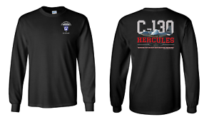 """8160 18th Airborne Corps  /""""C-130/"""" Long-Sleeve Cotton Shirt"""
