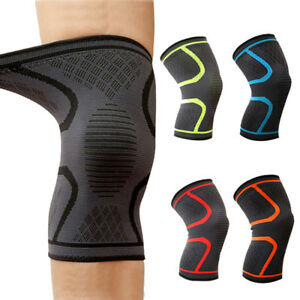 1-PAIR-Knee-Brace-Support-Compression-Sleeve-For-Joint-Pain-Arthritis-Relief-GYM