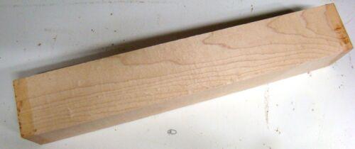 Ahorn 6,5x6,5x40cm Kantel Holz Maplewood Klotz O58 drechseln