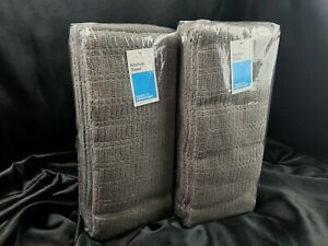 Room Essentials Kitchen Hand Towels 2 Packs Gray lot 12 towels total New Sealed