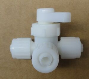 """Motorhome NEW 3//8/"""" x 3//8/"""" x 3//8/"""" PEX Flare Tee Fitting for RV Trailer Camper"""