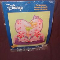 Tinkerbell Centerpiece Fairies Birthday Party Table Disney Hallmark 12 Pink